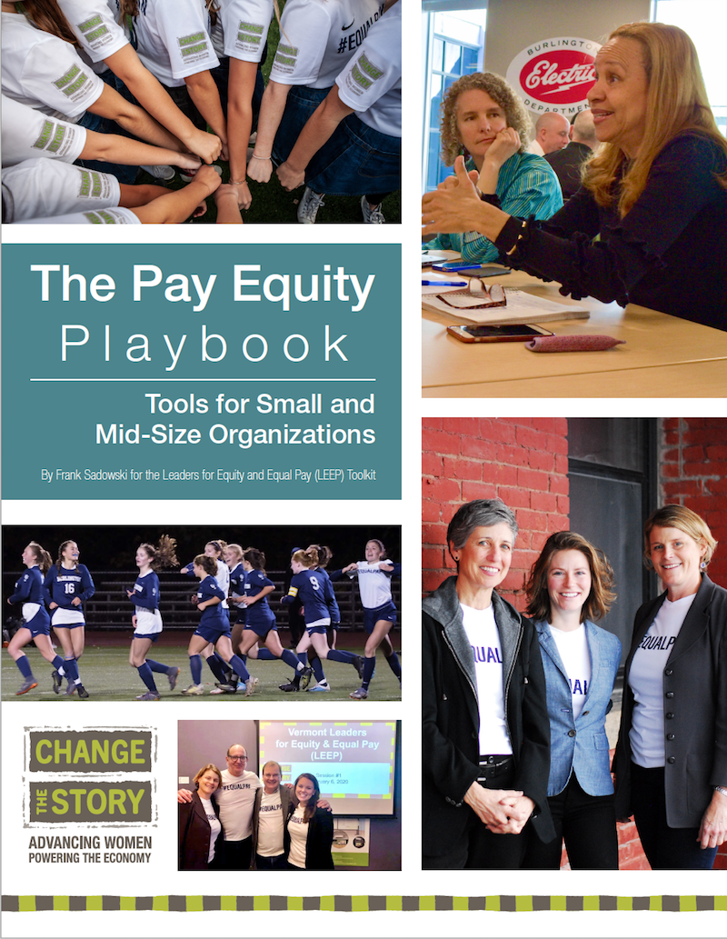 Do your own pay review with the Leaders for Equity and Equal Pay Toolkit.